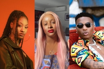 See The Gift Wizkid And Tems Sent Over To DJ Cuppy (Photos)